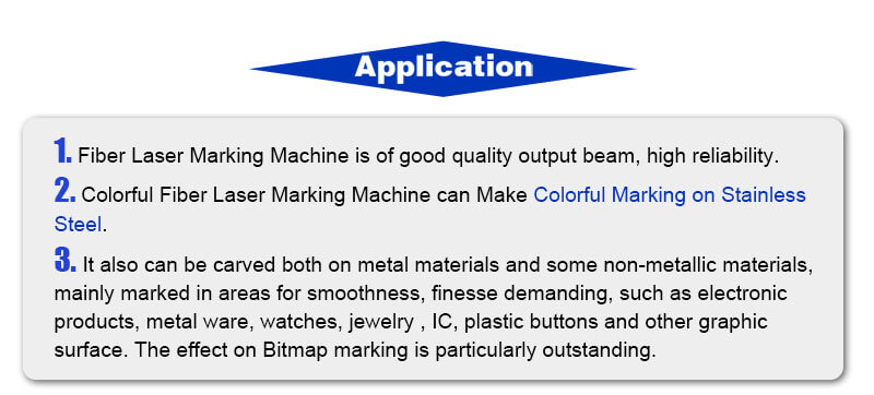 stainless steel marking machine