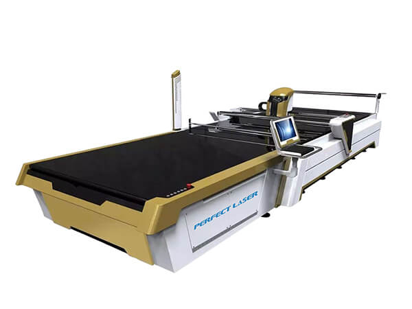 CNC Multi-layers Automatic Fabric Cutter Machine With CAD/CAM Cutting System-PEDK-3300