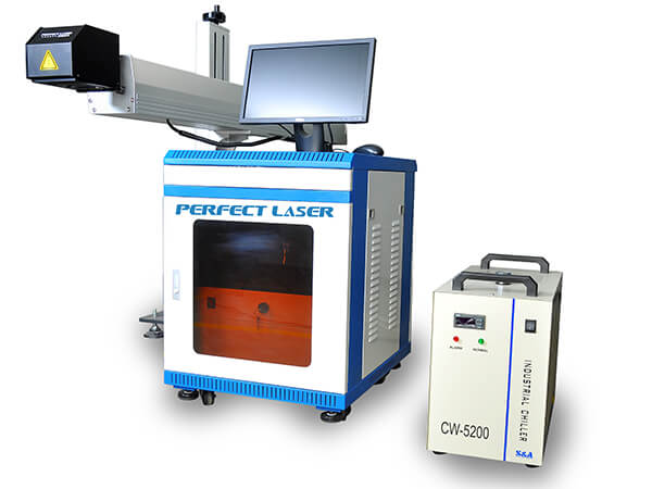 Ecnomic Co2 Laser Marking Machine (Use Chinese Glass Laser tube)-PEDB-C60A 80A 100A 130A