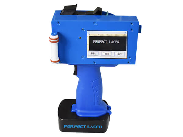 High Resolution Small Portable Printer for Inkjet Marking on Metal Plastic Wood Stone-PM-600A