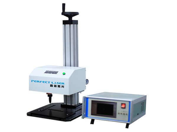 LCD Control Rotary Dot Peen Engraving Machine for Metal Parts-PEQD-025E
