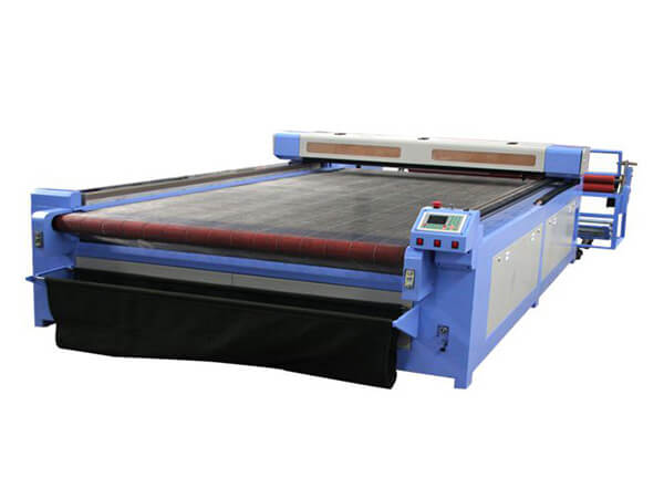 Laser Cutter with Auto Feeding System for Garment Fabric-PEDK-130180A