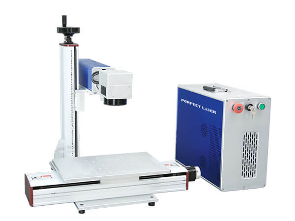 Fiber Laser Marking Systems With Motorized X Axis -PEDB-470