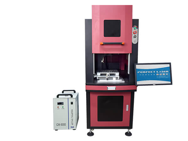 Perfect Laser-UV Marking Machine with Closed Cabinet -PE-UV-3W 5W 7W 10W-2