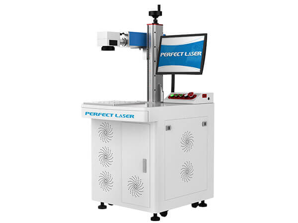 Floor Stand Carbon Steel Laser Marking Equipment With PC-PEDB-400D
