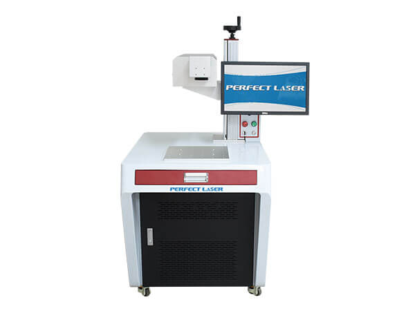 3D UV Laser Marker Machine For Ceramics Plastic Marking-PE-UV-3D