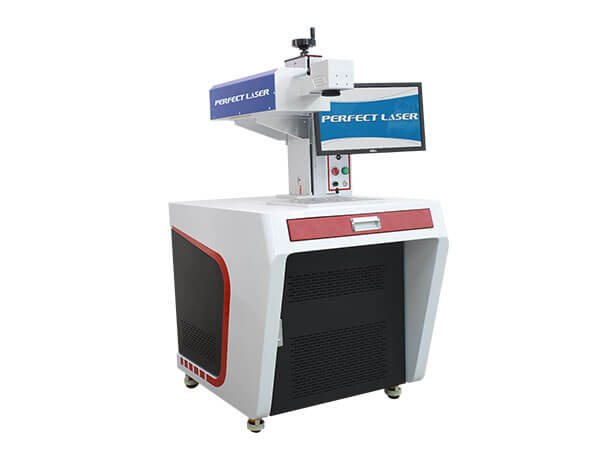 3D UV Laser Marker Machine For Ceramics Plastic Marking-PE-UV-3D