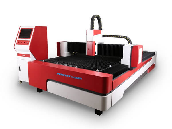 700w Fiber Laser Cutting System for Brass Copper Cutting-PE-F700-3015