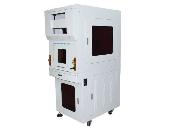 Fiber Laser Metal Etching Machine with Full Enclosed Cabinet -PEDB-500