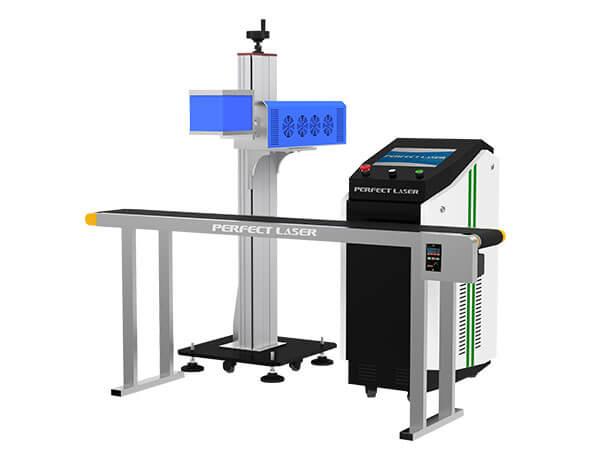 Online Flying CO2 Laser Marking Engraving Machine -PEDB-500B