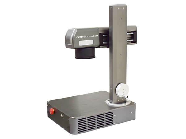 10W 20w Tabletop Mini Fiber Laser Marking Machine-PEDB-100A