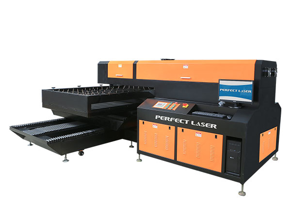 Single Head 400W / 600W Laser Die Board Cutting Machine-PEC-1218P