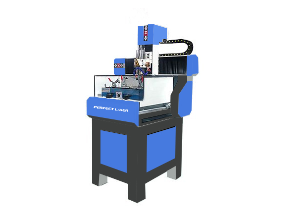 Small CNC Carving Moulding Machine for Metal and Non-metal Engraving-PEM-4040M