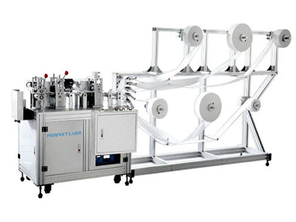 Fast Speed Fully Automatic N95 KN95 Face Mask Making Machine for Medical Surgical Mask Production-PE-K3