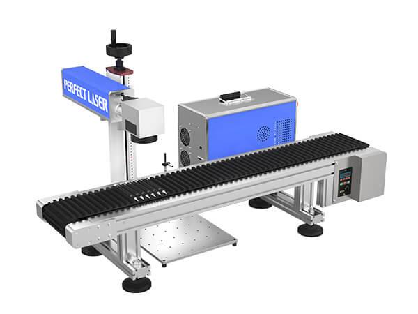 Pen Laser Engraving and Marking Machine with Customized Conveyor Belt -PEDB-460