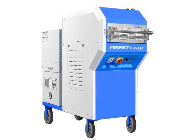 100w 200w Industrial Laser Metal Cleaning Derusting Machine -PE-X100 200