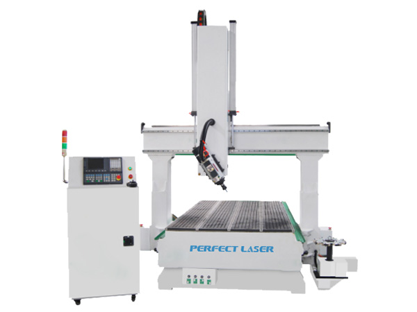 4 Axis Automatic Blades Changing CNC Metal Router Machine -PEM-2030F