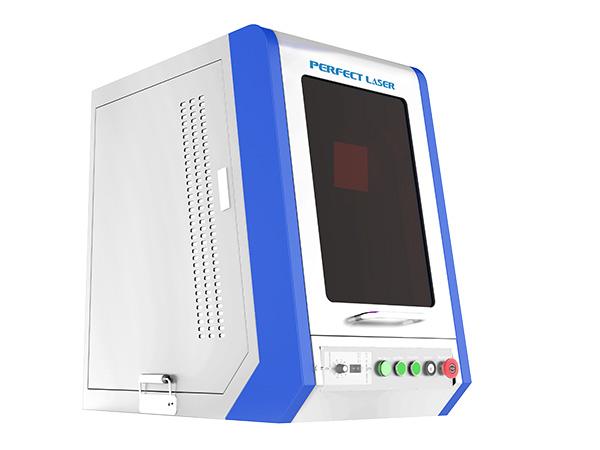 10w 20w Enclosed Fiber Laser Engraving Marking Machines for Metal-PEDB-200