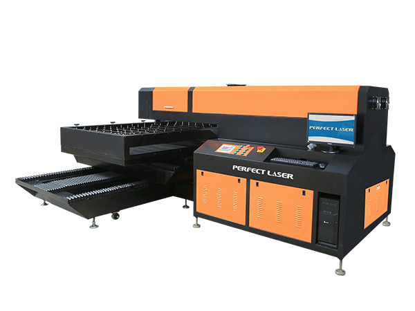 Single Head 400W / 600W Laser Die Board Cutting Machine-PEC-1218P