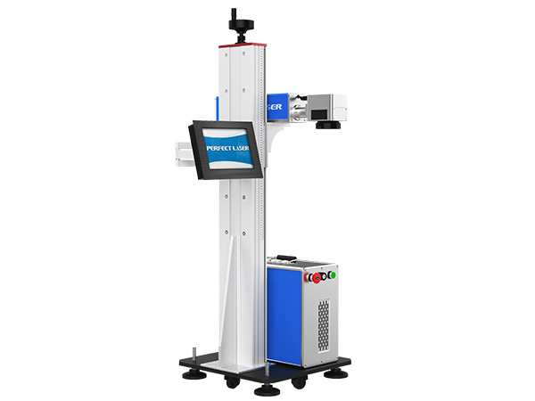 Lifting Type Laser Marking Machine for Bottles or Production Line-PEDB-600