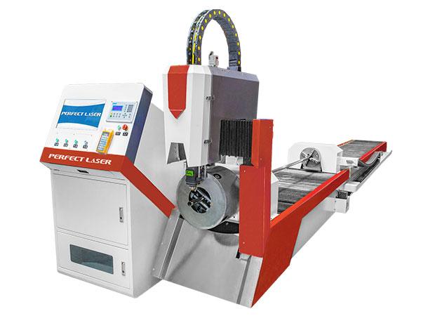 Metal Pipe and Tube Fiber Laser Cutter Machine-PE-F2060 / PE-F3080