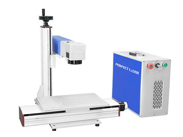 Fiber Laser Marking Systems With Motorized X Axis for Keyboard Marking-PEDB-470