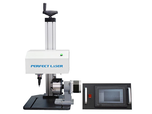 LCD Control Rotary Dot Peen Engraving Machine for Metal Parts-PEQD-025E