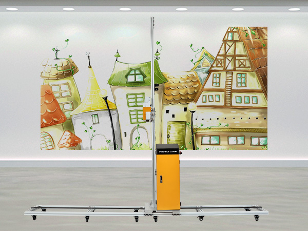 Vertical Type Direct to Wall UV Printer Machine Price for Ceramic Tile / Wooden Board / Glass Painting-PE-UV40