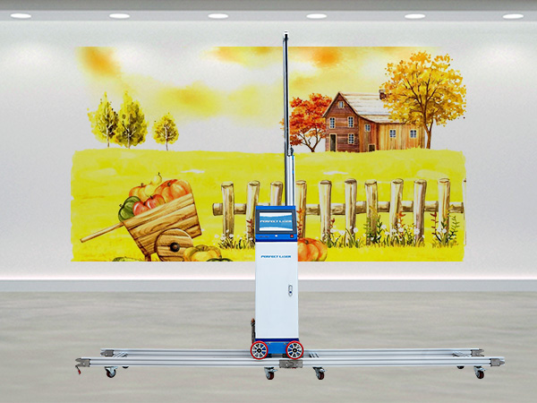 Dual-heads Double Speed Wall Painting Printer Machine with LCD Control-PE-H40